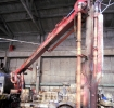 Восстановление стрелы бетононасоса