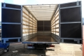 Установка фургонов с сдвижной крышей