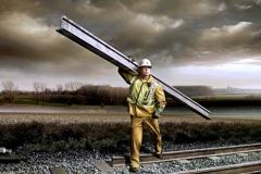 Краны-манипуляторы железной дороги