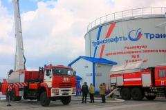 Обслуживание пожарного автомобиля