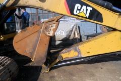Ремонт и восстановление стрелы экскаватора Caterpillar