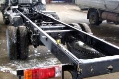 Усиление рамы грузовых автомобилей