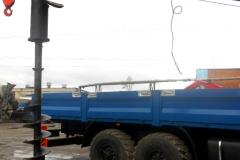 Установка бурового оборудования на КМУ