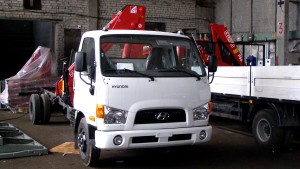 КМУ FASSI на шасси Hyundai