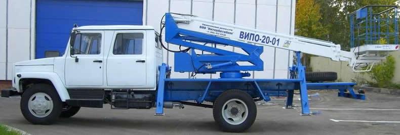 Автовышка на Газоне ВИПО 20
