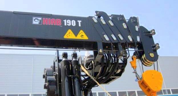 Кран манипулятор Hiab 190 T