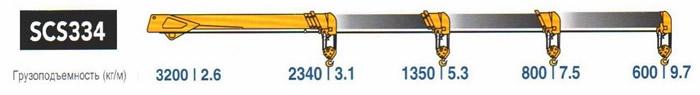 Крановая установка Soosan SCS334