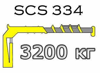 Кран манипулятор Soosan SCS 334