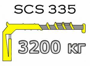 Кран манипулятор Soosan SCS 335