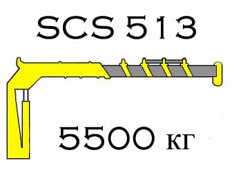 Кран манипулятор Soosan SCS 513