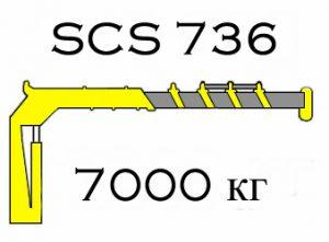 Кран манипулятор Soosan SCS 736