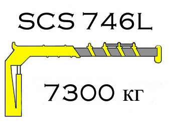 Кран манипулятор Soosan SCS 746L