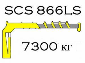Кран манипулятор Soosan SCS 866LS