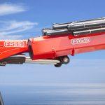 Новая модель крана манипулятора Fassi