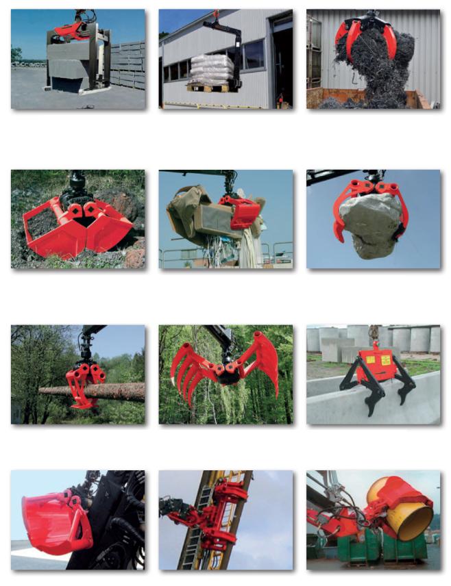 Навесное гидравлическое оборудование для КМУ