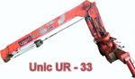 Продажа крана-манипулятора б/у UNIC UR 33
