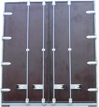 Ворота на Газель ламинированная фанера